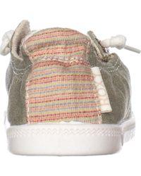 Roxy - Green Bayshore Fashion Sneakers - Lyst