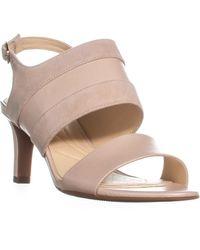 Clarks Multicolor Laureti Joy Sling Back Ankle Buckle Sandals