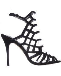 Steve Madden Black Slithur Dress Sandal