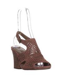 599568bf986 Lyst - Anne Klein Ak Sport Briella Slingback Sandals in Pink
