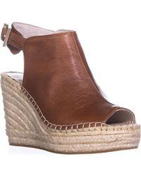 Kenneth Cole Natural Olivia Espadrille Wedge Sandal