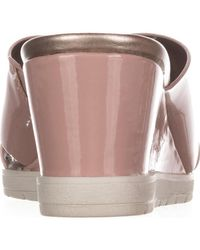 Easy Spirit - Pink Hartlyn Comfort Wedge Sandals - Lyst