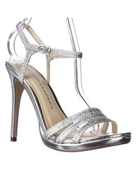 Chinese Laundry   Metallic Be Alright Strappe Dress Sandals   Lyst