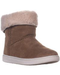 7edabfa63ee UGG Mika Classic Sneaker Ankle Boots in Brown - Lyst
