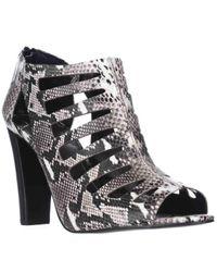 Tahari   Black Lindy Cutout Dress Sandals   Lyst