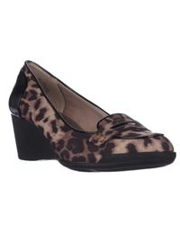 Anne Klein | Multicolor Tagalong Wedge Loafer Pumps | Lyst