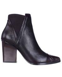 Donald J Pliner Brown Vaughn Ankle Boots
