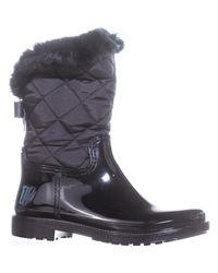 Kate Spade - Black Reid Rain Boots - Lyst