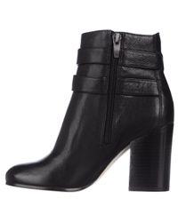 Via Spiga - Briella Double Strap Buckle Ankle Boots - Black - Lyst