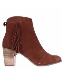 TOMS - Brown Lunata Ankle Boots - Lyst