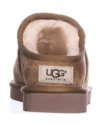 Ugg Brown Classic Slipper Lined Slippers