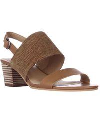 Lucky Brand - Gewel Block Heel Sandals - Brown Sugar - Lyst