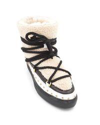 Inuikii Multicolor Curly Rock Shearling Sneakers