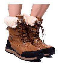 Ugg - Adirondack Boot Iii - Brown Leather - Lyst