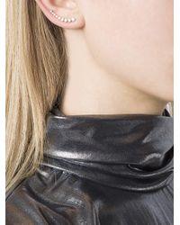 Anita Ko - Metallic Diamond Cuff Earring - Lyst