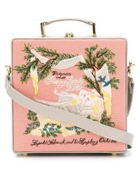 Olympia Le-Tan Multicolor Small 'sleeping Beauty' Tote