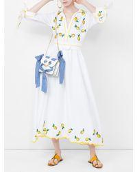 Gül Hürgel White Point-collar Linen Dress