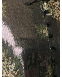 SUNO Multicolor Metallic Effect Shirt