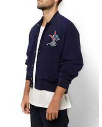 Lacoste Blue Polo Inspired Jacket for men