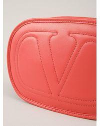 Valentino Multicolor Round Crossbody Bag