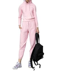 Vetements   Pink Champion Cotton-Jersey Sweatpants   Lyst