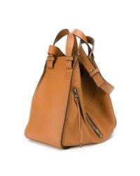 Loewe   Brown Zipped Cross Body Bag   Lyst