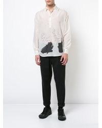 Enfants Riches Deprimes White Baron Shirt for men