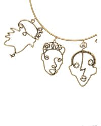 Rosie Assoulin - Metallic Four Faces Necklace - Lyst