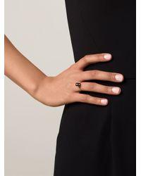 Nektar De Stagni | Black Onyx Cube Ring | Lyst