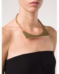Miansai - Metallic Modern Flat Necklace - Lyst