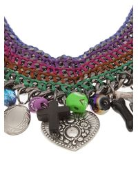Venessa Arizaga - Multicolor 'candy Says' Necklace - Lyst
