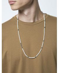M. Cohen - Multicolor Beaded Necklace for Men - Lyst