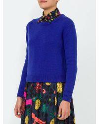 LHD North Shore Cashmere Sweater Purple
