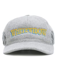 Moncler X Off-white White Widow Embriodered Cap for men