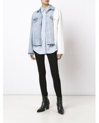 Off-White c/o Virgil Abloh Multicolor X Levi's Made & Crafted Colour Block Denim Jacket