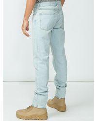 Yeezy Blue Straight-leg Jeans for men