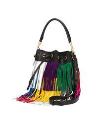 Saint Laurent Multicolor Medium 'emmanuelle' Bucket Bag