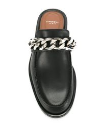 Givenchy Black Chain Detail Mule