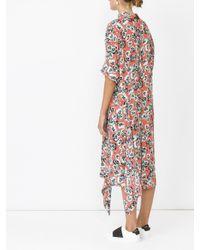 Marni - Multicolor Floral Print Dress - Lyst