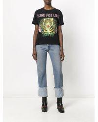 Gucci - Black Blind For Love Tiger Print T-shirt - Lyst