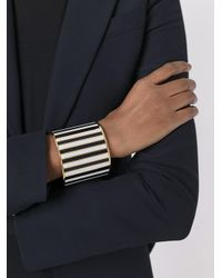 Givenchy - Multicolor Monochrome Cuff Bracelet - Lyst