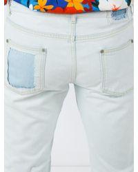 Maison Margiela Multicolor Straight Leg Jeans for men