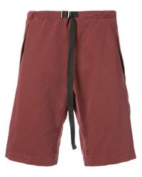 Stella McCartney Red Drawstring Waist Shorts for men
