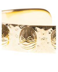Aurelie Bidermann Metallic Tamar Gold Cuff