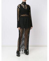 Marques'Almeida Multicolor Perforated Dress
