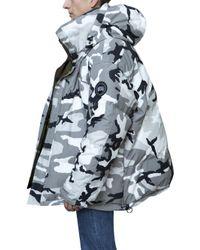 Vetements Multicolor X Canada Goose Reversible Jacket for men