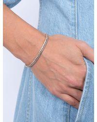 Eva Fehren Multicolor Rose Gold 2mm Line Bracelet