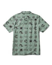 Vans - Green X Brain Dead Short Sleeve Shirt for Men - Lyst