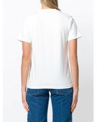 AlexaChung - White Hardcore Slogan T-shirt - Lyst