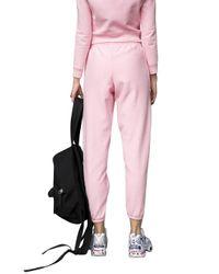 Vetements - Pink Champion Cotton-Jersey Sweatpants - Lyst